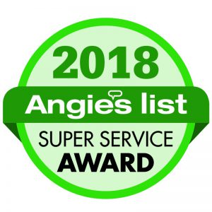 D&L Sprinkler Service Angie's List Super Service Award 2018